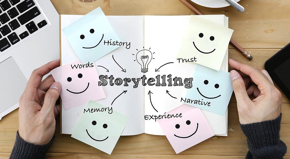 Engage them with creative storytelling not marketing campaigns