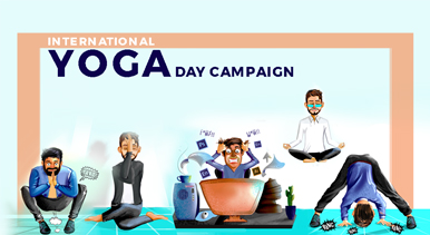 International Yoga Day 2018 campaign